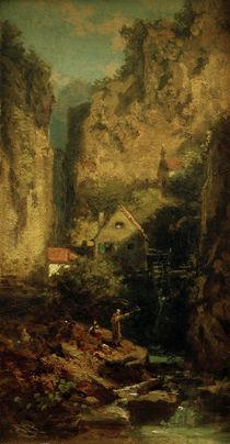 C.Spitzweg, Der Forellenangler by AKG  Images