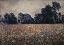 C.Monet, Mohnblumen bei Giverny by AKG  Images