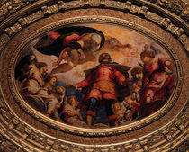 Tintoretto, Rochus in der Glorie by AKG  Images