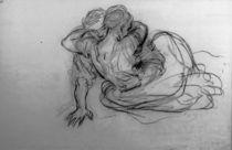 L.Knaus, Beim Tanz zu Boden gefallenes von AKG  Images