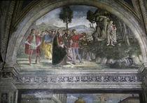 Pinturicchio, Wunder des Hl.Bernhardin by AKG  Images