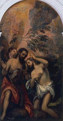Veronese zugeschr., Taufe Christi von AKG  Images