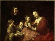 Rembrandt, Familienbildnis / 1668 von AKG  Images
