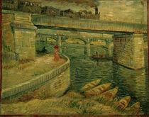 V.v.Gogh, Die Bruecken von Asnieres von AKG  Images