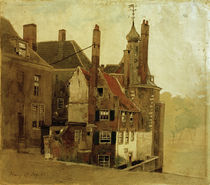 Andreas Achenbach,  Haeuser in Den Haag by AKG  Images