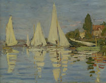 C.Monet, Regates a Argenteuil (Ausschn.) by AKG  Images