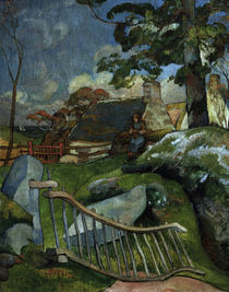Paul Gauguin,  Das Gatter by AKG  Images