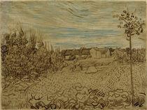 V.v.Gogh, Bauernhaus in einem Feld von AKG  Images
