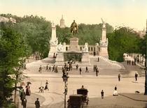 Kaiser Wilhelm Denkmal Breslau / Photoch von AKG  Images
