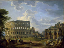 Rom,Kolosseum u.Konstantinsbogen/Pannini von AKG  Images