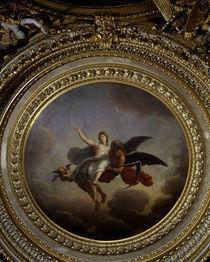 Vaux le Vicomte/Koenigszimmer/Medaillon von AKG  Images