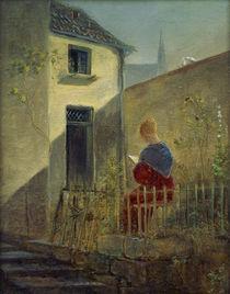 C.Spitzweg, Im Hausgarten von AKG  Images