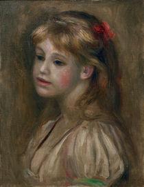 A.Renoir, Portraet eines Maedchens by AKG  Images