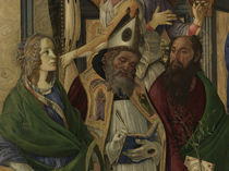 S.Botticelli, Katharina, Augustinus u.a. by AKG  Images