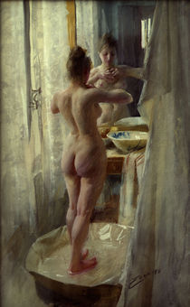 Anders Zorn, Der Badetub by AKG  Images