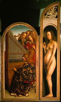 Jan van Eyck, Genter Altar, 'Eva' / 1432 by AKG  Images