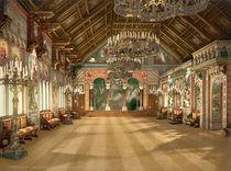 Schloss Neuschwanstein/ Innen /Photochrom by AKG  Images