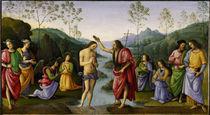 Perugino, Taufe Christi by AKG  Images