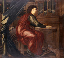 E.Burne Jones, Die heilige Caecilie by AKG  Images