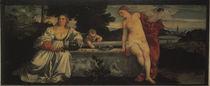 Tizian, Himmlische und Irdische Liebe von AKG  Images