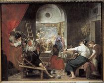 Velazquez, Die Spinnerinnen / um 1657 von AKG  Images
