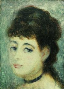 A.Renoir, Bildnis einer jungen Frau von AKG  Images