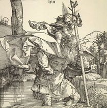 Duerer, Der heilige Christophorus by AKG  Images