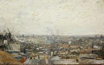 V.van Gogh, Blick auf Paris vom Montm. von AKG  Images