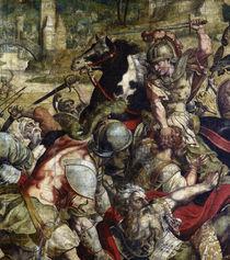 Schlacht am Ticinus / Karton f.Bildtepp. von AKG  Images