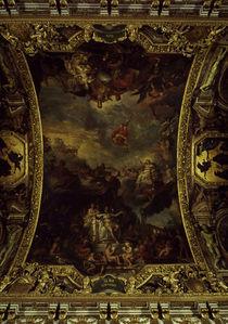Ludwig XIV. Aleinherrschaft / Le Brun von AKG  Images