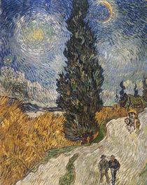 Van Gogh/Zypressenweg Sternenhimmel/1890 by AKG  Images