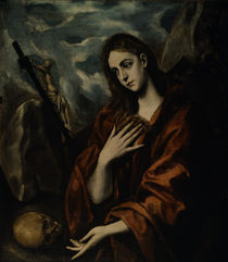El Greco, Buessende Maria Magdalena by AKG  Images