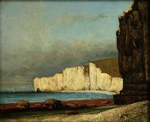 G.Courbet, Kuestenlandschaft von AKG  Images