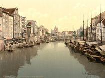 Koenigsberg, Oberer Pregel / Photochrom by AKG  Images