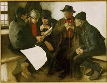 Leibl, Die Dorfpolitiker / 1877 von AKG  Images