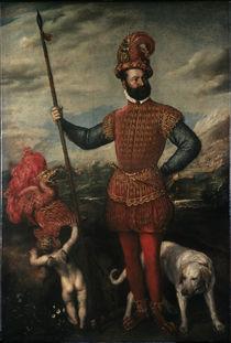 Tizian/ Sog. Herzog von Atri/ 1551-52 von AKG  Images