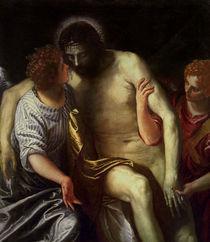 P.Veronese, Toter Christus mit Engeln von AKG  Images