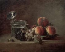 J.B.S.Chardin, Die Kristallschale by AKG  Images