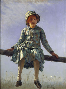 Ilja Repin/ Flattergeist/ 1884 by AKG  Images