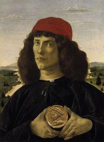 Botticelli, Bildnis eines Unbekannten by AKG  Images