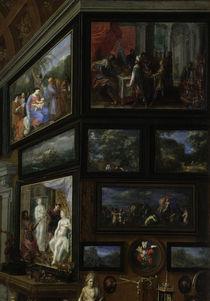 J.Brueghel d.Ae., Inneres der Linder Gal. by AKG  Images