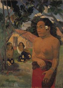 Gauguin, E Haere oe i hia by AKG  Images
