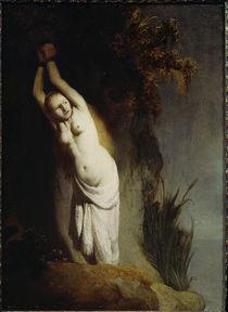 Rembrandt, Andromeda an einen Felsen g. by AKG  Images
