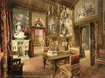 Schloss Neuschwanstein / Photochrom von AKG  Images