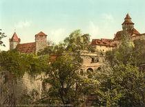 Nuernberg,Burg,Vestnertor, Kaiserstallung by AKG  Images