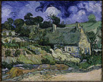 V.v.Gogh, Haeuser in Auvers by AKG  Images
