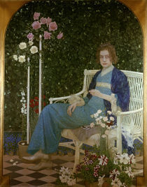 Oskar Zwintscher, Adele/ Gem. 1904 by AKG  Images