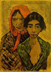 Otto Mueller, Zwei Zigeunerinnen by AKG  Images