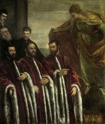 Tintoretto, Schatzmeister u.Hl.Justina by AKG  Images