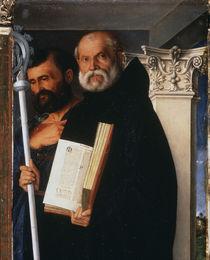 G.Bellini, Hl.Markus und Benedikt von AKG  Images
